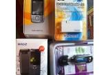 1 x telefon mobil 3G Nokia 660i slide, 1 x telefon mobil dual sim W102, 1 x multicard reader M1 10 in 1, 1 x digital Music Player Kinetix