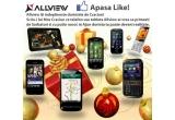 1 x telefon sau o tableta Allview