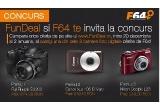 1 x aparat foto Fuji FinePix S3200, 1 x aparat foto Canon Ixus 105 IS, 1 x aparat foto Nikon Coolpix L23, 1 x vouchere 20 RON , 1 x vouchere 5 RON
