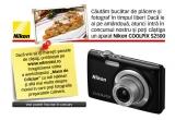 1 x aparat foto Nikon COOLPIX S2500