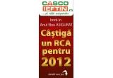 1 x RCA pentru 2012