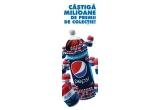 3.267.000 x doza Pepsi 0,33L de colectie (Editie Limitata), 80 x mini frigider retro Pepsi Cola, 800 x hanorac retro Pepsi Cola, 1 x excursie pentru doua persoane, 7 zile la New York