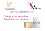 1 x 2 parfumuri Azzaro de Valentine's Day
