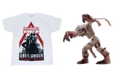1 x figurina originala de colecție din seria World of Warcraft, 1 x tricou cu Batman: Arkham City
