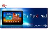 1 x un Samsung Galaxy Tab, 1 x smartphone Galaxy S II, 1 x premiu special