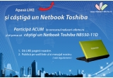 1 x Netbook Toshiba NB550-11D Lime Green