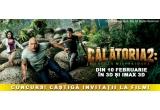 """3 x invitație duble la filmul """"Calatoria 2: Insula Misterioasa"""" la Cinema City Sun Plaza București"""