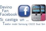 1 x Telefon mobil Samsung C3222 Dual Sim