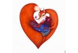 1 x Print inramat semnat de ilustratoarea Madalina Andronic