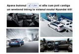 1 x weekend intreg la volanul noului Hyundai i40