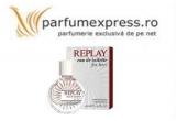 1 x parfum Replay oferit de Parfumexpress.ro
