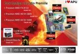 "1 x Procesor  AMD FX-8150 + Joc ""Deus Ex: Human Revolution"", 1 x Procesor  AMD A8 X4 3800 + Joc ""Deus Ex: Human Revolution"", 1 x Procesor   AMD A4 X2 3400 + Joc ""Deus Ex: Human Revolution"", 1 x Stick-uri USB Patriot + jocuri ""Deus Ex: Human Revolution"""