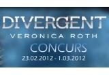 """1 x cartea """"Divergent"""" de Veronica Roth"""
