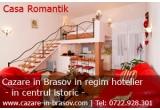 1 x week-end gratuit la Sighisoara, 1 x sejur Romantik gratuit la Brasov la pensiunea Casa Romantik, 1 x cina romantica la Cafe Restaurant La Strada din Brasov