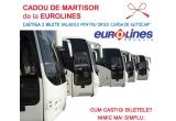 1 x 2 bilete de autocar pe orice cursa de autocar Eurolines