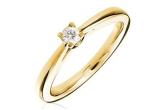 1 x inel cu diamant