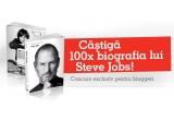 """100 x cartea """"Biografia lui Steve Jobs"""""""