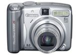 un aparat foto digital Canon A580
