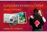 1 x aparat foto digital Olympus argintiu