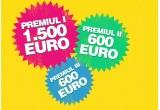 1 x 1.500 euro, 2 x 600 euro