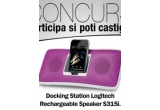 1 x docking station pentru Iphone si Ipod Logitech Rechargeable Speaker S315i