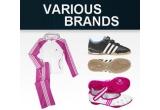 1 x trening Adidas pentru fetite, 1 x pereche de balerini Adidas, 2 x pereche de adidasi Adidas