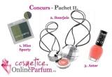 3 x premiu cu produse cosmetice, 10 x cupon de reducere valabil pentru cumparaturi ce contin si parfumuri - 9 RON valoare cuponului
