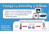 1 x mediaplayer HD for all 600 WEB, 1 x rama foto digitala E-Boda Vogue LED 850, 1 x lampa cu ceas E-Boda Touch Soul, 50 x  voucher de reducere 20% pentru cumparaturile pe www.e-boda.ro