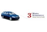 3 x autoturism Skoda Octavia Combi Drive, 240 x PET bere 2L, 10.000 x Minge, 5.000 x Tricou