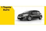 1 x autoturism Toyota Auris, 6 x voucher f64.ro de 500 RON, 49 x cana in forma de obiectiv