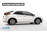 1 x un weekend de test drive cu noul Honda Civic + 1 noapte de cazare la Hotel Ramada din Brasov pentru o camera de 2 persoane cu mic dejun inclus