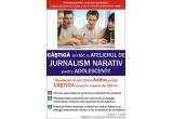 1 x un loc la Atelierul de Jurnalism Narativ pentru Adolescenti