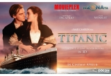 """1 x invitatie de 2 persoane la filmul """"Titanic 3D """" la MOVIEPLEX"""
