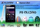 1 x smartphone Allview P3 AllDro
