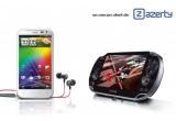 1 x telefon mobil HTC Smartphone Sensation XL White, 1 x consola PlayStation Vita