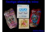 "1 x premiu de la anicka maya (pereche de gene falte + adezivi ""Duo"" +  sapun ""White Magnolia"" + 2 masti Montagne Jeunesse)"