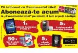 "1 x tableta Samsung P7300 9"", 5 x telefon mobil dual sim Samsung, 50 x set 6 carti ""Capital"", 5 x e-book Prestigio 7"""