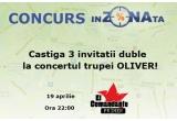 3 x invitatie de 2 persoane la concertul trupei Oliver in El Comandante Primer