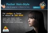 1 x servicii de hair styling in valoare de 280 de lei