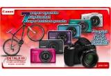 1 x aparat foto compact Canon SX, 7 x o bicicleta Cross Gravito