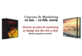 2 x cartea &quot;Marketing de la A la Z&quot;, 2 x cartea &quot;10 pacate capitale de marketing&quot;<br type=&quot;_moz&quot; />