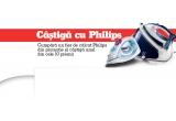 1 x PACHET PROMO EPILATOR PHILIPS HP6540/00, 1 x APARAT DE GATIT CU ABUR PHILIPS HD9120, 1 x FRITEUZA PHILIPS HD6103, 1 x MIXER VERTICAL PHILIPS HR1371, 1 x APARAT DE BARBIERIT AQUATOUCH PHILIPS AT750/16, 1 x STORCATOR DE FRUCTE SI LEGUME PHILIPS HR1853/00, 1 x ROBOT DE BUCATARIE PHILIPS VIVA COLLECTION HR7761/00, 1 x ASPIRATOR FARA SAC PHILIPS FC8732, 1 x APARAT DE GATIT CU ABUR PHILIPS HD9160, 1 x ESPRESSOR PHILIPS SAECO HD8751/19