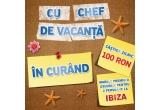21 x cupon de cumparaturi de 100 RON, 1 x excursie pentru o persoana 6 zile la Ibiza