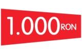 40 x cupon valoric de cumparaturi in valoare de 50 RON, 1 x cupon valoric de cumparaturi in valoare de 1.000 RON