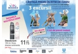 3 x excursie in marile orase ale dansului european, 50 x tinute Catalin Botezatu, mii de premii instant
