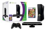 1 x o consola de jocuri Xbox 360 Kinect Special Edition + JOC ADVENTURES, 1 x pereche de casti Logitech H150, 1 x cooler Logitech N120, 1 x mouse Logitech M325