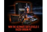1 x custom Battlefield 3™ themed Origin PC, 10 x mouse Razer Taipan + mouse pad Battlefield 3™ Scarab + casti Battlefield 3™ BlackShark + jocul Battlefield 3™ Premium, 200 x cod de joc BF3 Close Quarters DLC, 200 x cod de joc Battlefield 3™ Premium