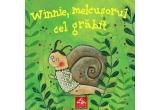 "4 x cartea ""Winnie, melcusorul cel grabit"" de Annettei Herzog"