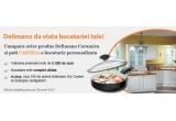 1 x bucatarie personalizate in valoare de 5000 euro, 100 x premiu Delimano Dry Cooker