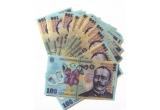 1 x 100 RON, 1 x 200 RON, 1 x 300 RON